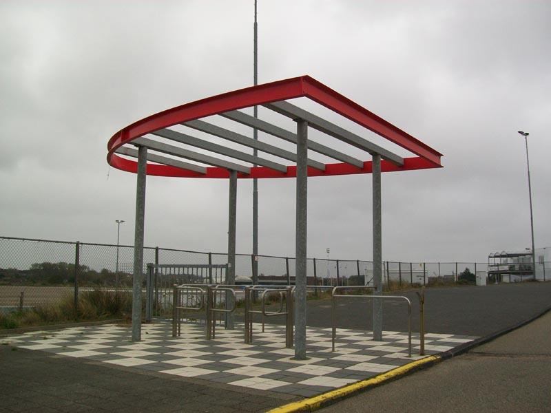 Circuit Zandvoort Finish portaal door Ovec 7