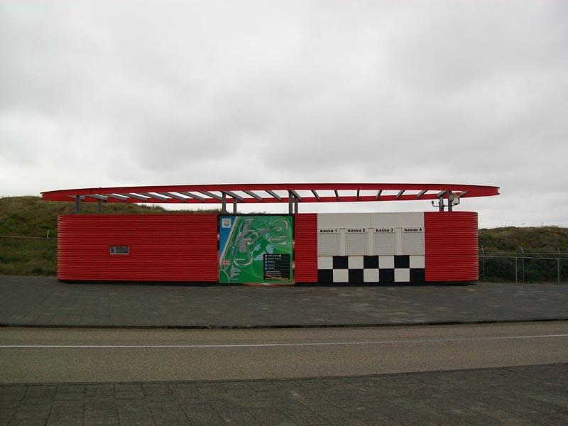 Circuit Zandvoort Finish portaal door Ovec 8