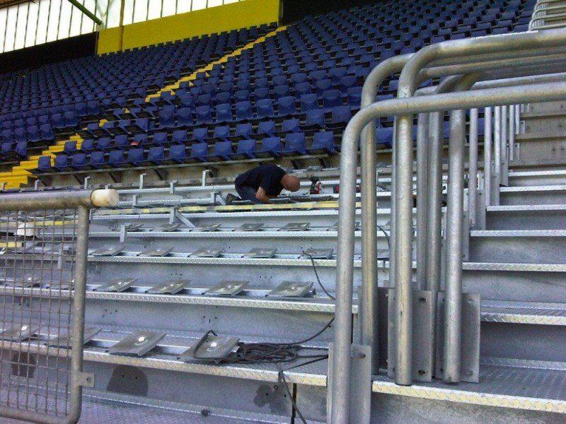 uitbreiding tribune NAC stadion